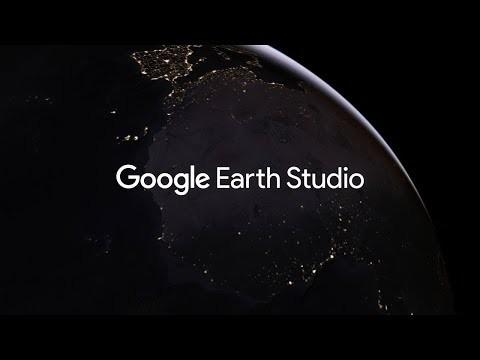 Google Earth Studio is a web-based animation tool for Google Earth imagery. https://g.co/earthstudio