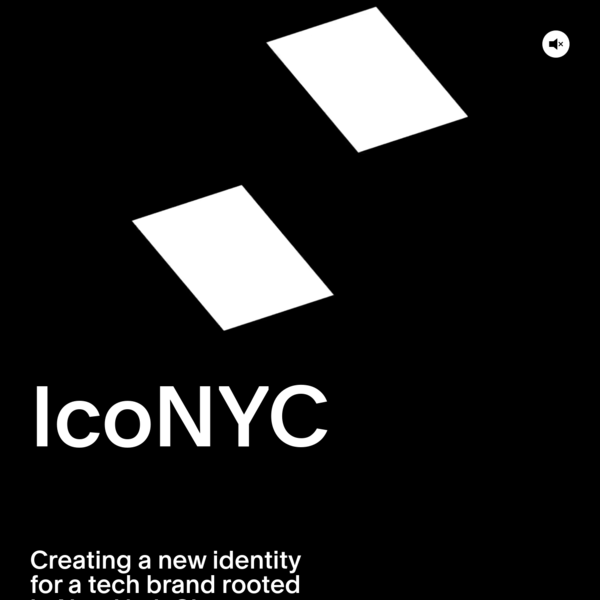 Creating a new identity for a tech brand rooted in New York City.