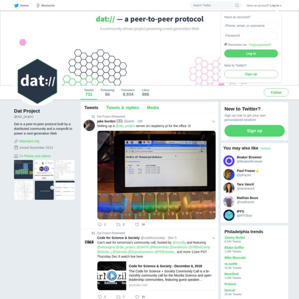 Dat Project (@dat_project) | Twitter