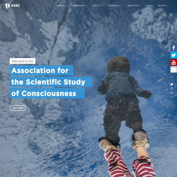 theASSC.org – Association of Scientific Studies of Conciousness