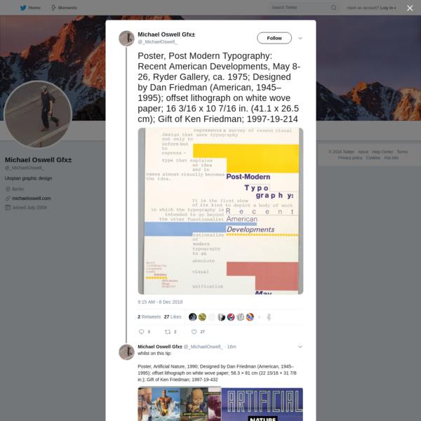 Michael Oswell Gfx± on Twitter