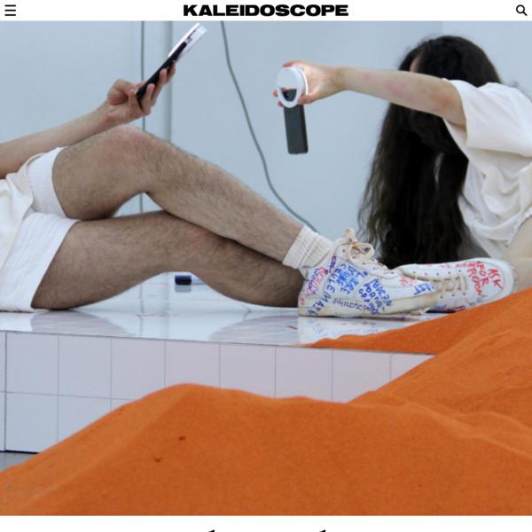 KALEIDOSCOPE - Young Girl Reading Group