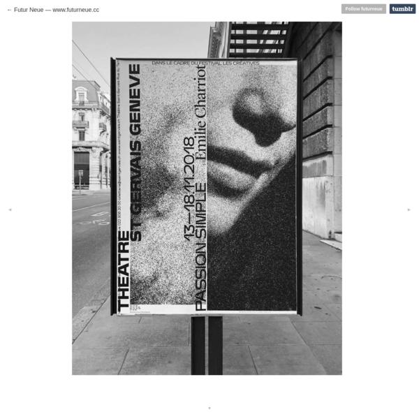 Graphic Design & Research - www.futurneue.cc