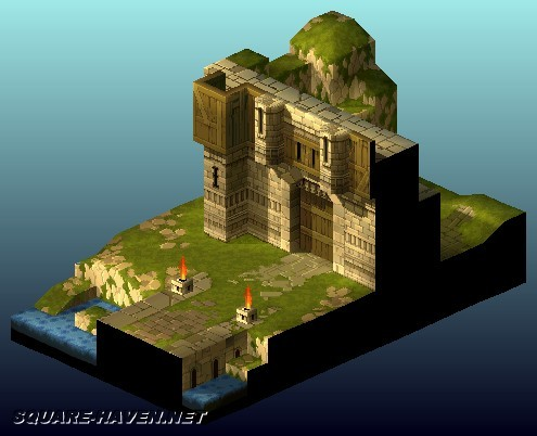 Final Fantasy Tactics - Various Environments