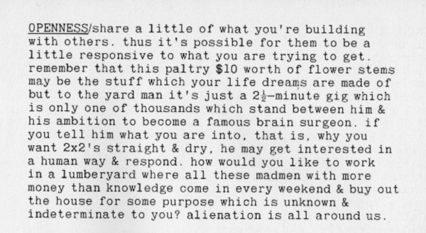 How to build your own living structures - Ken Isaacs (1974), p.12