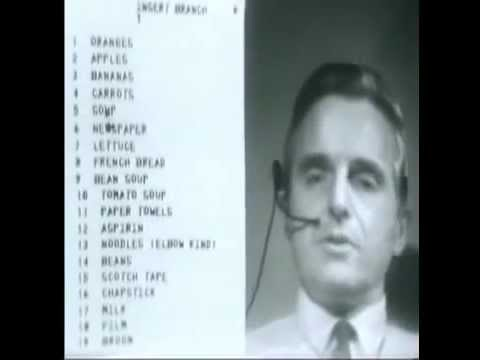 """""""The Mother of All Demos is a name given retrospectively to Douglas Engelbart's December 9, 1968, demonstration of experimental computer technologies that are now commonplace. The live demonstration featured the introduction of the computer mouse, video conferencing, teleconferencing, hypertext, word processing, hypermedia, object addressing and dynamic file linking, bootstrapping, and a collaborative real-time editor."""""""