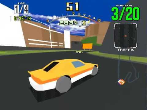 Model 2 Emulator Virtua Daytona USA Gameplay (Advanced) http://nebula.emulatronia.com