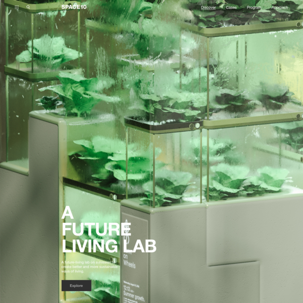 A Future Living Lab - SPACE10