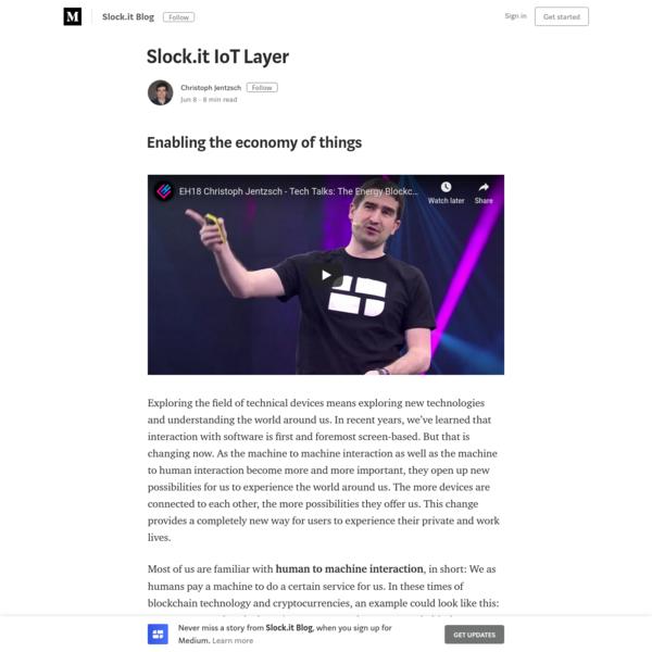 Slock.it IoT Layer - Slock.it Blog