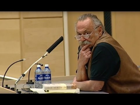 """""""Jim Harrison At the Wallace Stegner Center"""" (2005)"""