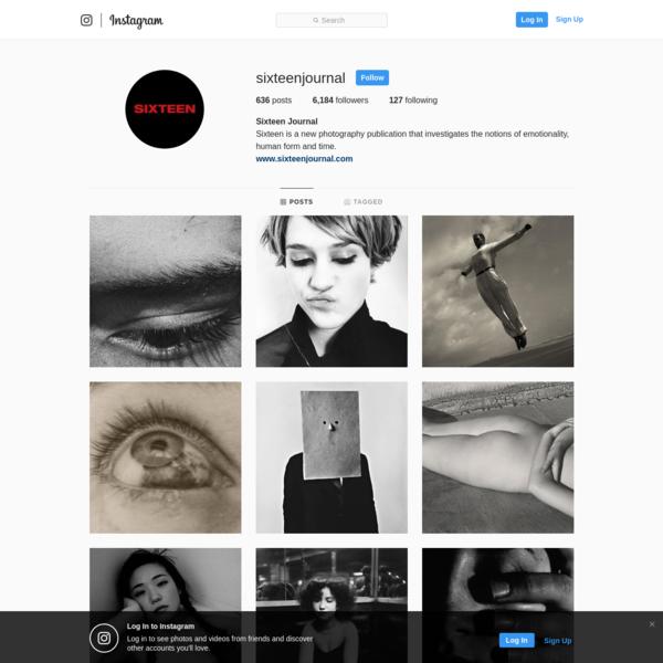 Sixteen Journal (@sixteenjournal) * Instagram photos and videos
