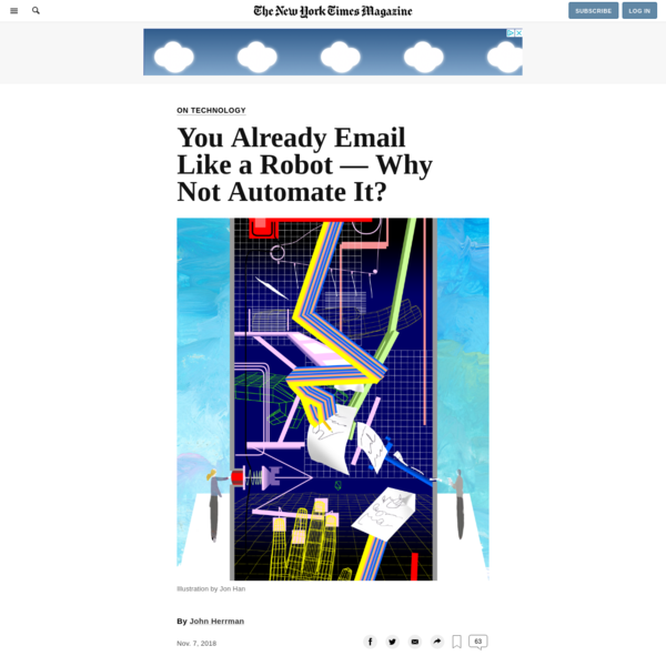 You Already Email Like a Robot - Why Not Automate It?