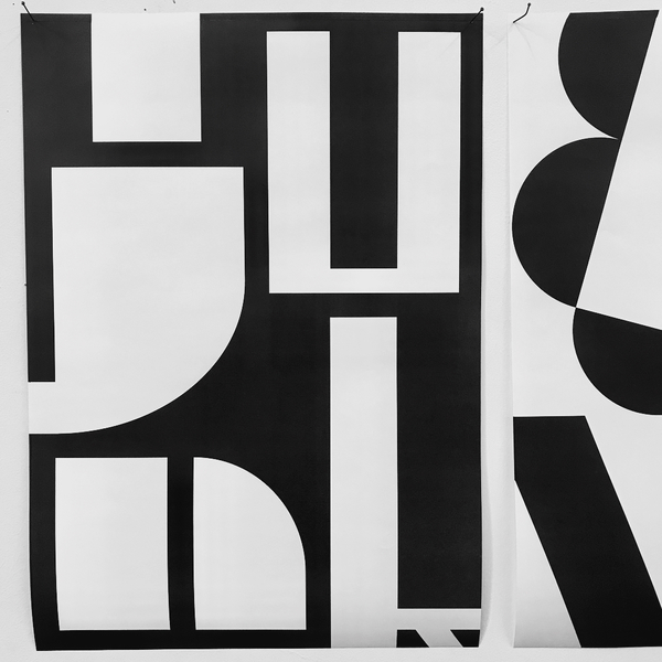 """123 Likes, 0 Comments - Studiografischontwerp (@studiografischontwerp) on Instagram: """"1st years experiments 👀 in the typography class: design a four letter word by morphing shapes and..."""""""