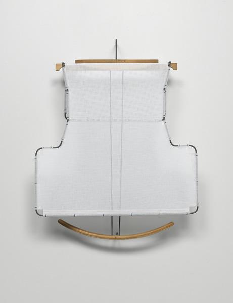 Diane Simpson, Bib (white), 2006
