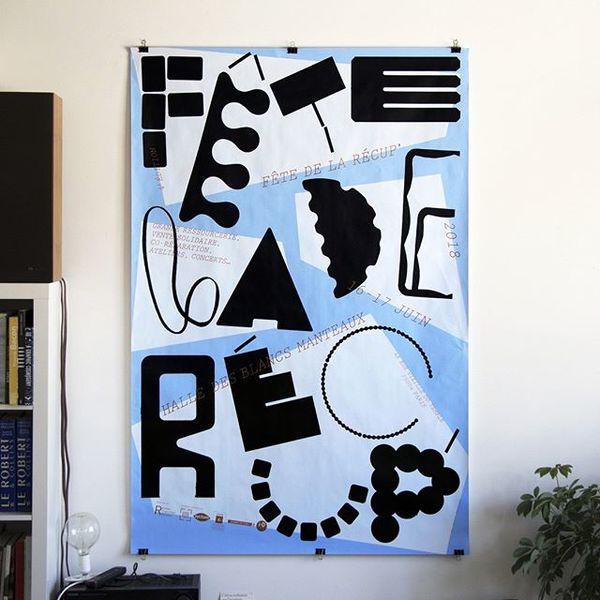 #fetedelarecup #poster #silkscreen #lezardgraphique @lezardgraphique67
