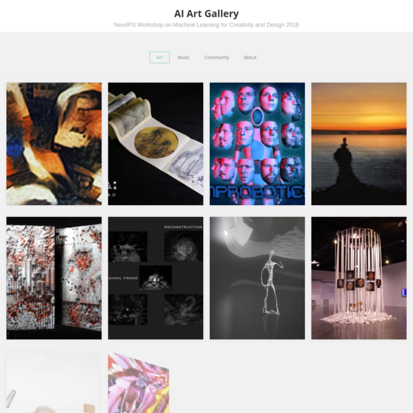 AI Art Gallery