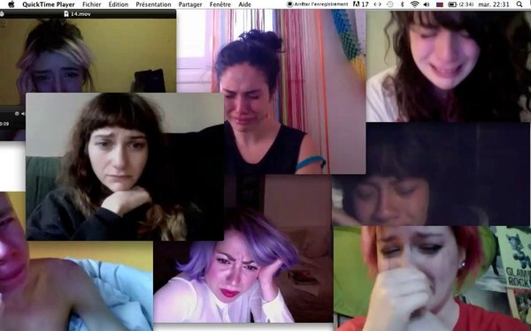 webcam tears