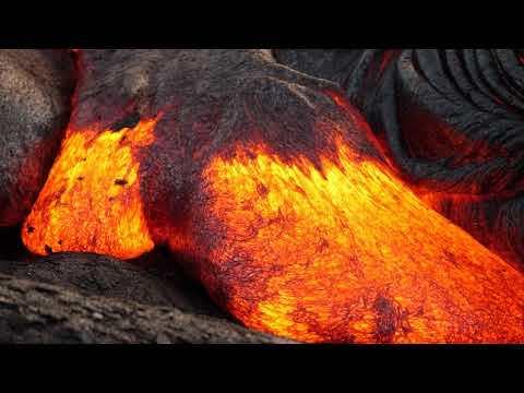 9 - 03 - 17 Hawaii Lava Flow - Panasonic GH5 4k 60fps Part 2