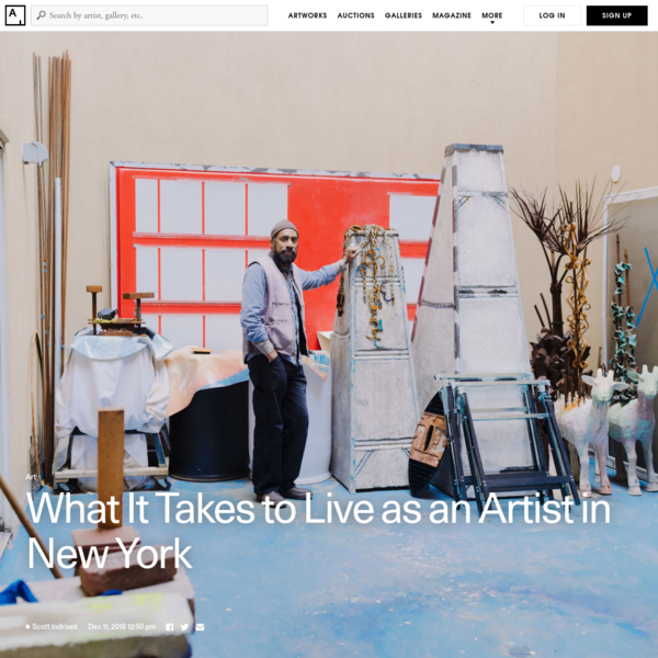 What It Takes to Live as an Artist in New York