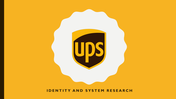 Are na / UPS Identity and System
