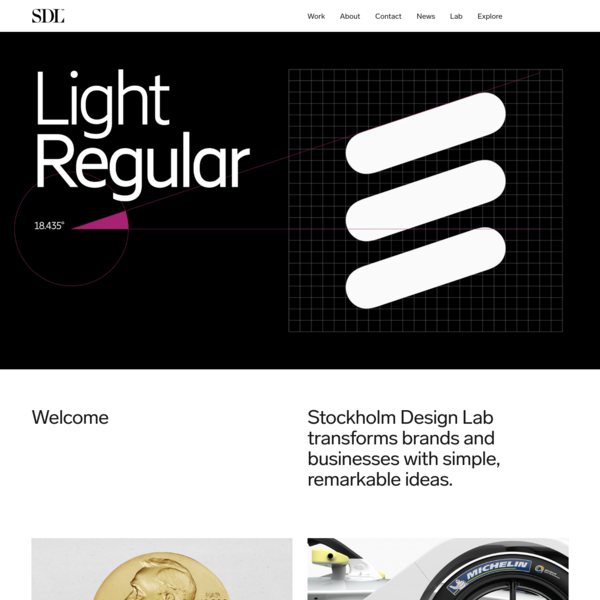 Stockholm Design Lab transforms brands and businesses with simple, remarkable ideas.