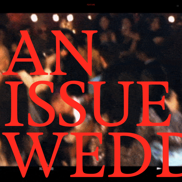 An Issue Wedding: Editorial by Lenne Chai | ISSUE Magazine
