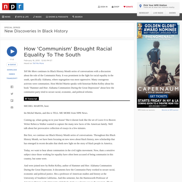 How 'Communism' Brought Racial Equality To The South