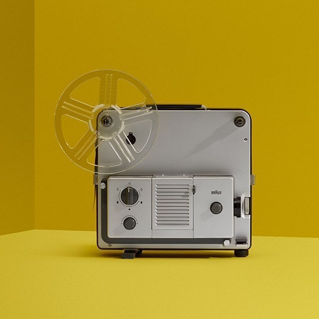 Dieter Rams - Projector for Braun
