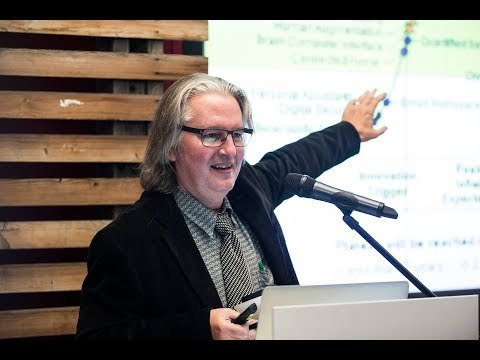 "Bruce Sterling. Lecture ""The epic struggle of the internet of things"""