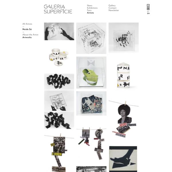 Neide Sá - Artists - Galeria Superfície