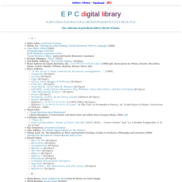 EPC Digital Library