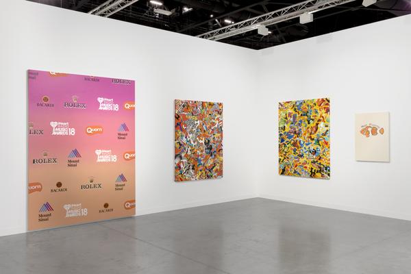 2018.12 Jamian Juliano-Villani, Borna Sammak, Sable Elyse Smith: Art Basel Miami Beach, Nova, 2018