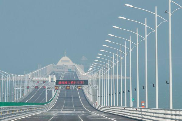 hong kong - macau bridge