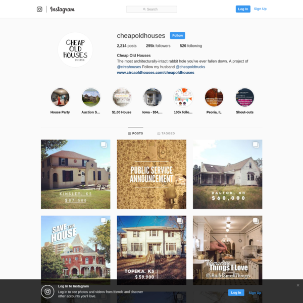 Cheap Old Houses (@cheapoldhouses) * Instagram photos and videos