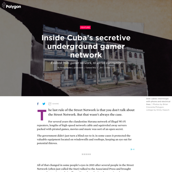 Inside Cuba's secretive underground gamer network
