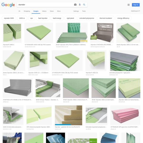 styrodur - Google Search
