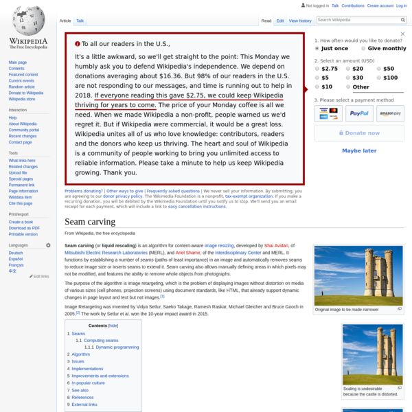 Seam carving - Wikipedia