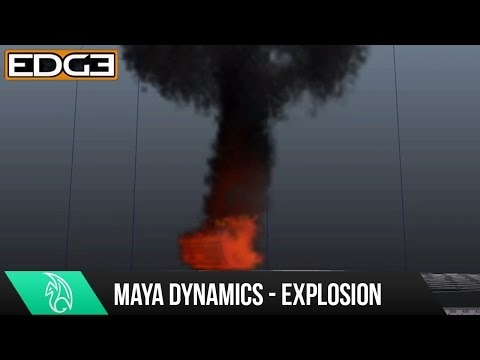 Maya Dynamics Tutorial - Ball of Fire Explosion HD Check out this cool maya dynamics tutorial where you will learn how to create a simple simulation to create a ball of fire explosion. This tutorial was created by Tim from studiofourmedia.com so if you enjoyed this tutorial make sure you check out his website here - WEBSITE - http://www.studiofourmedia.com Thanks for Watching!