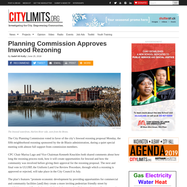 Planning Commission Approves Inwood Rezoning