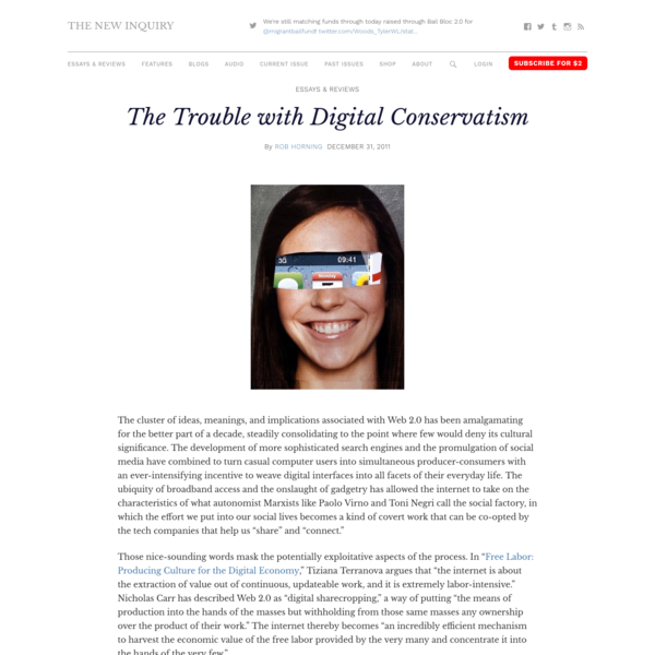 The Trouble with Digital Conservatism