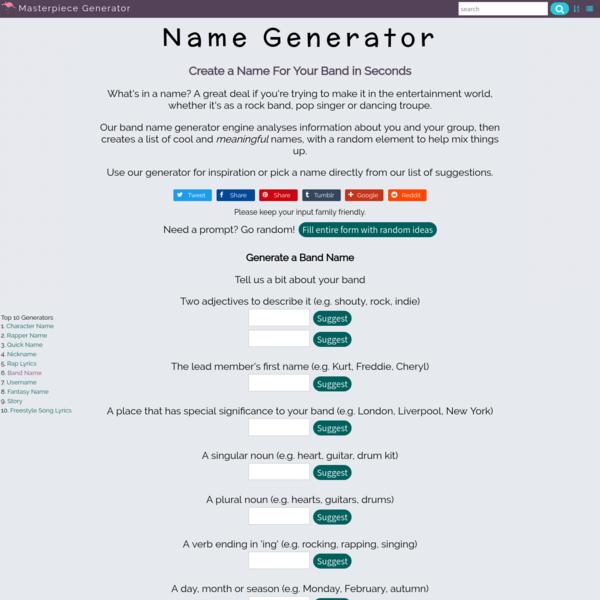 World Name Generator