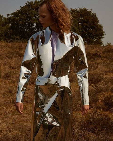 Fashion Story: A New World. Photography by Myrthe Giesbers, fashion by Lotte Sindahl, makeup by Ulla Jacobsen@Scoop artist, ...