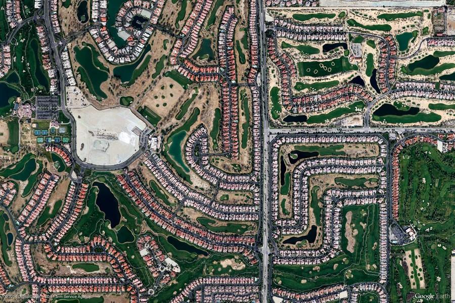 La Quinta, California, United States (Google Earth View 1783)