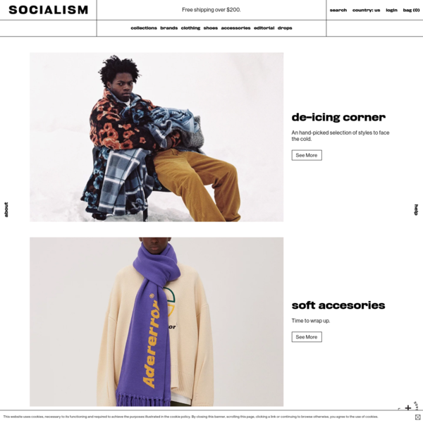 Shop clothing and goods that represent urban subcultures. Featuring brands like ALYX, Carhartt WIP, Cav Empt, Nike, Stone Island, Stussy, Undercover, WTAPS and many more.