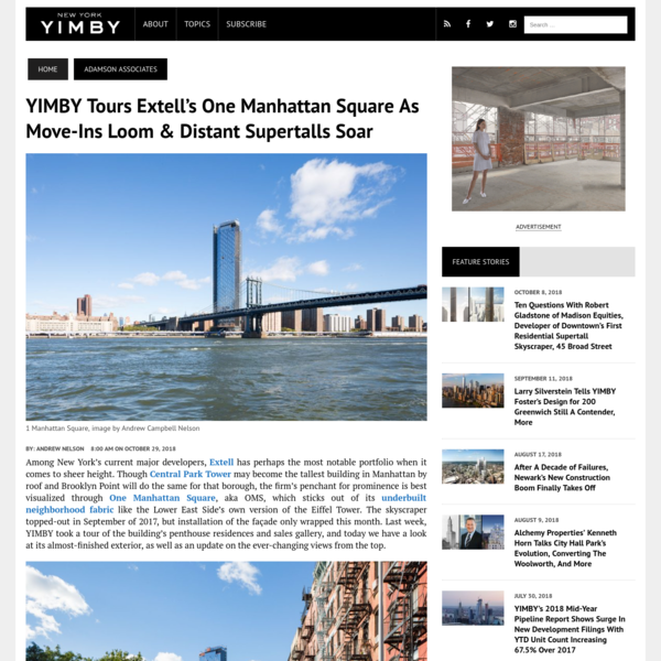 YIMBY Tours Extell's One Manhattan Square as Move-Ins Loom & Distant Supertalls Soar - New York YIMBY