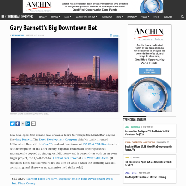 Gary Barnett's Big Downtown Bet