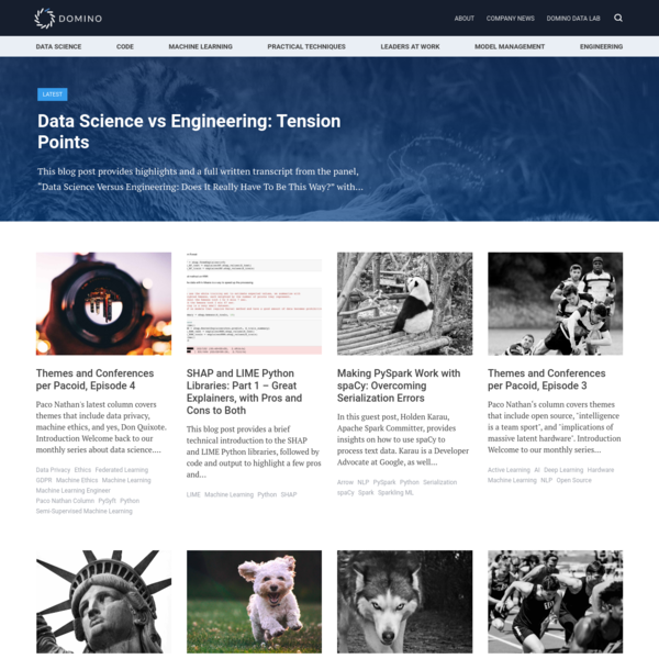 Machine Learning Archives - Data Science Blog by Domino