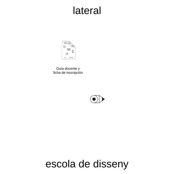 LATERAL - escola de disseny