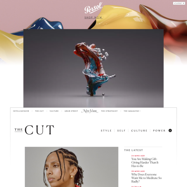 THE CUT: Style. Self. Culture. Power.