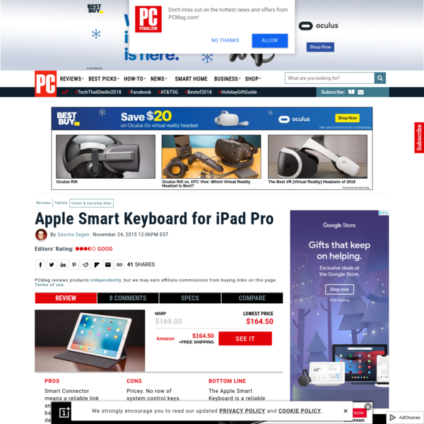 Apple Smart Keyboard for iPad Pro